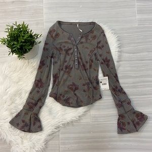 NWT Free People Layer Me Henley